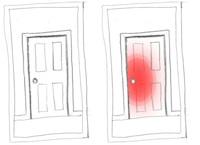A Bruised Door