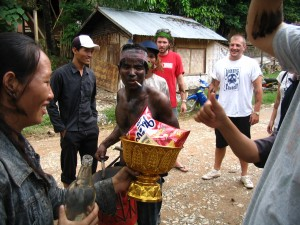 Rocket Festival in Ban Phatang, Laos